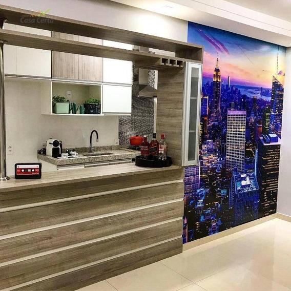 Apartamento Com 2 Dormitórios À Venda, 54 M² Por R$ 190.000 - Jardim Esplanada - Mogi Guaçu/sp - Ap0171