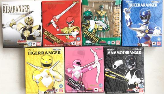Sh Figuarts Power Rangers Kiba , Dragon , Ptera, Triceratops