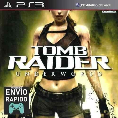 Tomb Raider Underworld - Jogos Ps3 Original