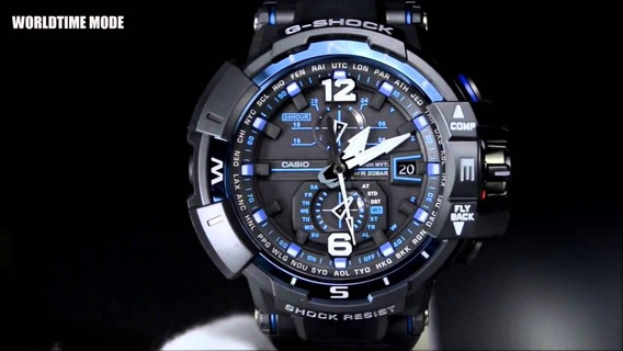 Relogio Casio G Shock Gravity Master Touch Gw A1100fc 1adr