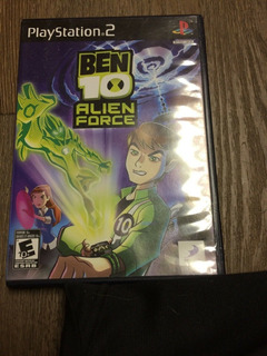 Ben 10 Alien Force - Ps2 Original - Nuevo Caja Sellada