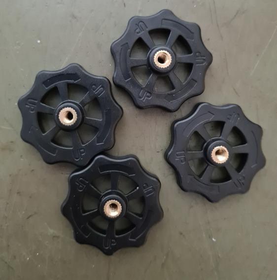 Kit 4 Poras Para Mesa Aquecida Hotbed Impressora 3d Rosca4mm