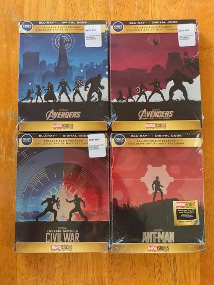 Best Buy Marvel 10 Años Avengers Ant Man Civil War Steelbook