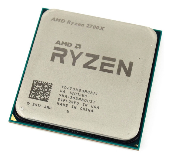 Procesador AMD Ryzen 7 2700X 8 núcleos 68.7 GB