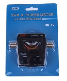 Medidor Estacionária Potência Nissei Rs-40 Usado 1 Vez