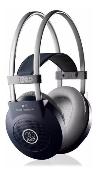 Fone Profissional Akg K77 Novo Original Nf-e