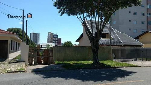 Terreno À Venda, 762 M² Por R$ 1.300.000,00 - Carioca - São José Dos Pinhais/pr - Te0185
