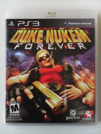 Jogo Duke Nukem Forever Playstation Ps3 - Fisico