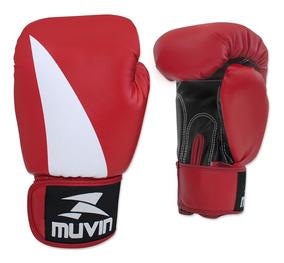 Luva De Boxe Bolt Bx Muvin Lvb-200 - Cor Preto/vermelho