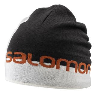 Gorro Beanie Graphic Esquí Alpino Montaña Blanco Salomon