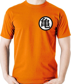 Camiseta Uniforme Kame Goku Dragon Ball Z Super Camisa Blusa