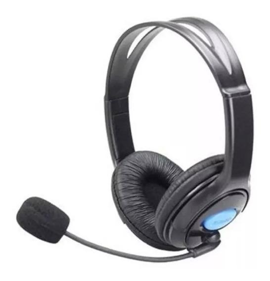 Headset Fone De Ouvido Gamer C/ Microfone Ps4