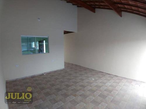 Imagem 1 de 21 de Entrada R$ 50 Mil E Saldo Financiado! Casa Com 3 Dormitórios, 109 M² Por R$ 250.000 - Jussara - Mongaguá/sp - Ca3685