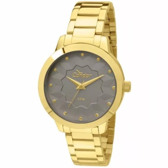 Relógio Condor Feminino Dourado - Co2036kof/4c