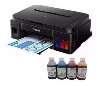 Impresora Canon G2100 Kit Foto Cabina Tinta Ocp Y Papel