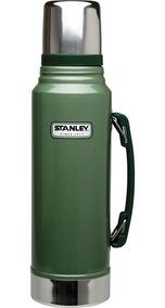 Garrafa Térmica Stanley Classic 1 Litro 8006 Verde