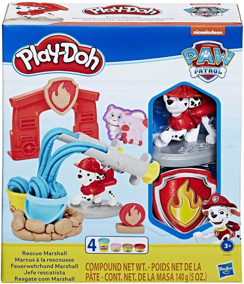 Play Doh Paw Patrol Marshall Delivery Gratis Ccs