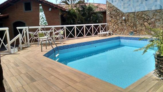 Carnaval R$5.200, Praia Grande- Casa 3suites C/piscina