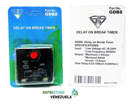 Protector Temporizador Retardador Ajustable 3 A 10 Minutos