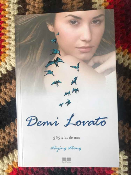 Livro Demi Lovato - Staying Strong