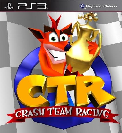 Crash Team Racing Ps3 Ctr Ps1 Classico