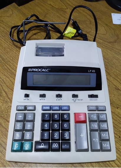 Calculadora Procalc Lp45 Semi-nova