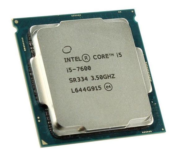 Processador gamer Intel Core i5-7600 BX80677I57600 de 4 núcleos e 4.1GHz de frequência com gráfica integrada