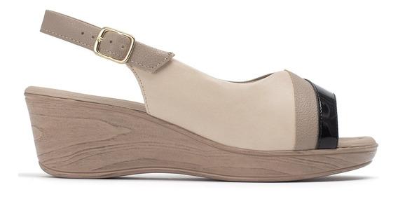 Sapato Bebecê Tricolor Com Recortes - 540266