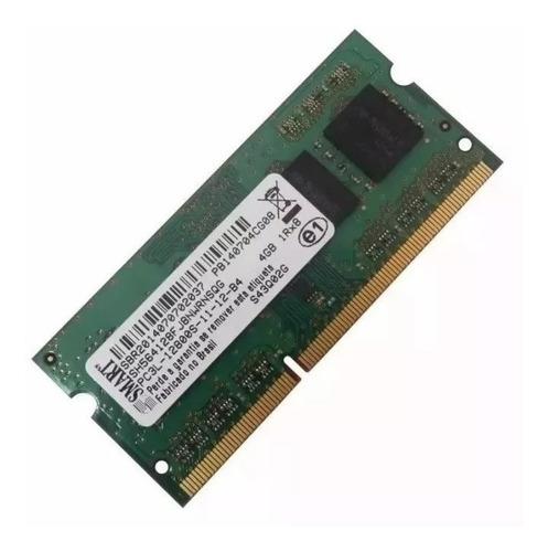 Imagem 1 de 2 de Memoria Smart 4gb Notebook Ddr3l Pc3l 12800s 1600mhz Novo