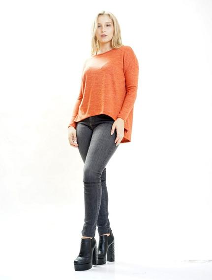 Sweater Lana,escote Redondo Amplio Hasta El Talle Xl Axioma