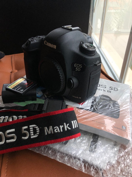 Camera Canon 5dmark Iii Bateria E Memory Card- 40514 Clicks