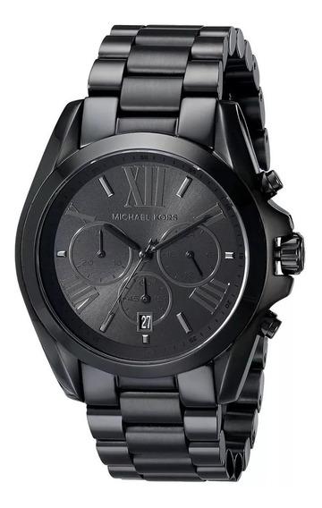 Relógio Michael Kors Mk5550 Bradshaw Black Original