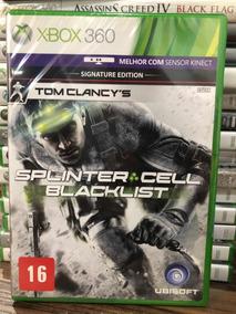 Jogo Splinter Cell Black List Xbox 360 Novo Lacrado