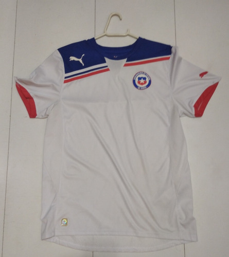Camisa Chile 2010/2011 Away - G (73x53) - R$ 100