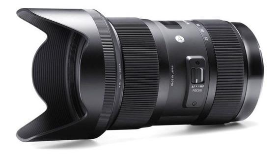 Lente Sigma Dc 18-35mm F/1.8 Art P/ Canon