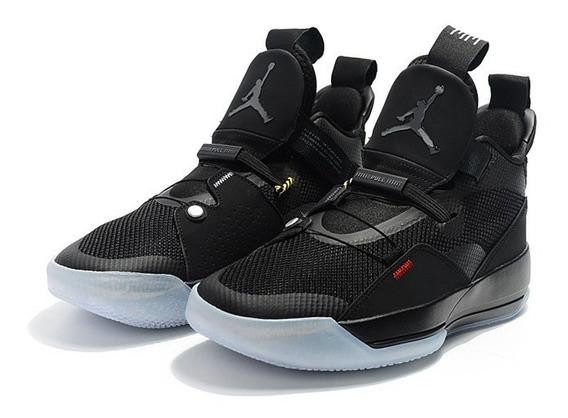 Zapatillas Nike Air Jordan 33 Black Nuevo Modelo 40-46 2018