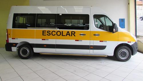 Renault Master Escolar 0 Km 2022 Á Pronta Entrega