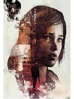 Placa - Quadro - Decorativo - The Last Of Us - Jogos (v446)