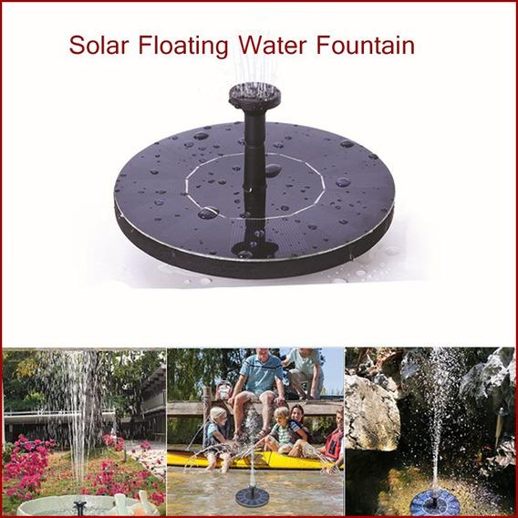 Mini Fonte De Água Flutuante Solar Para Jardim Piscina Lago