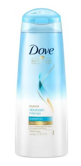 Dove Shampoo Hidratacion Intensa 200ml Unilever