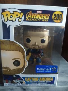 Funko Pop! Capitan America #299 - Avengers - Walmart