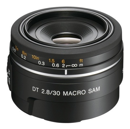 Objetiva Sony 30mm F/2.8 Macro Prime A-mount Dt D49
