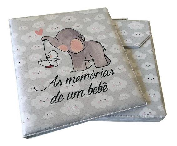 Album Infantil Memórias De Um Bebê P/ 70 Fotos 15x21