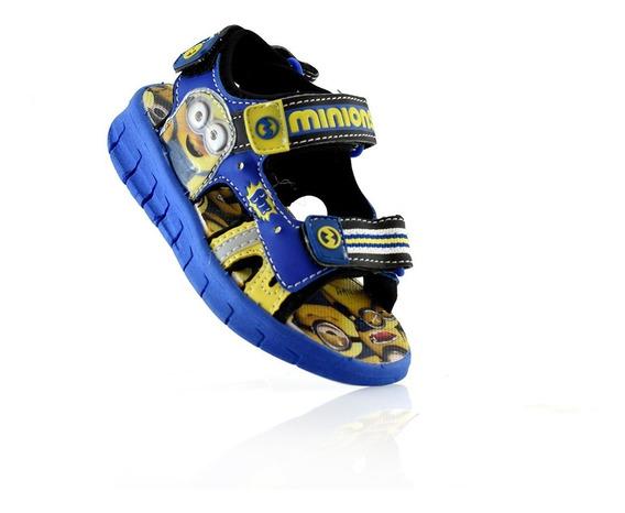 Sandalia Minions Con Luz Addnice 345-20 Elis Calzados