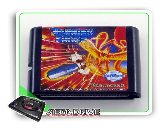 Thunder Force 3 Sega Mega Drive / Genesis - Novo