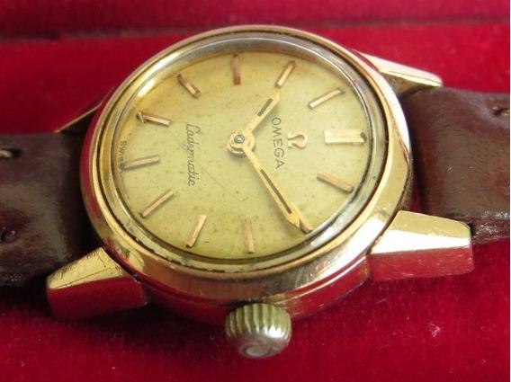 Relógio Omega Ladymatic Completo - Estojo, Fivela, Pulseira
