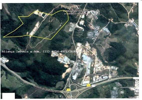 Área Para Venda Em Araçariguama, Rodovia Gregorio Spina - 2823