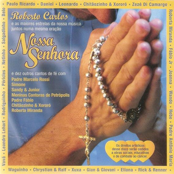 Cd Nossa Senhora - Roberto Carlos - Novo***
