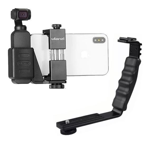 Adaptador Osmo Dji + Suporte Smartphone Celular Pro 2+ L