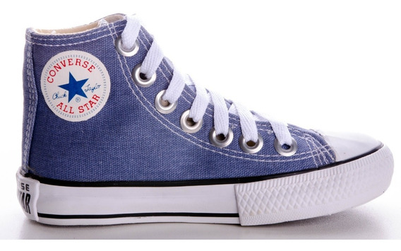 Tênis Converse All Star Cano Alto Chuck Taylor Ox Infantil